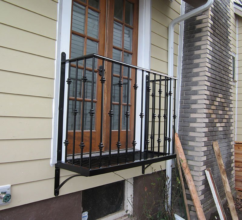 Adrians Iron Works does Iron Balconies, french balconies, steel balconies and more.