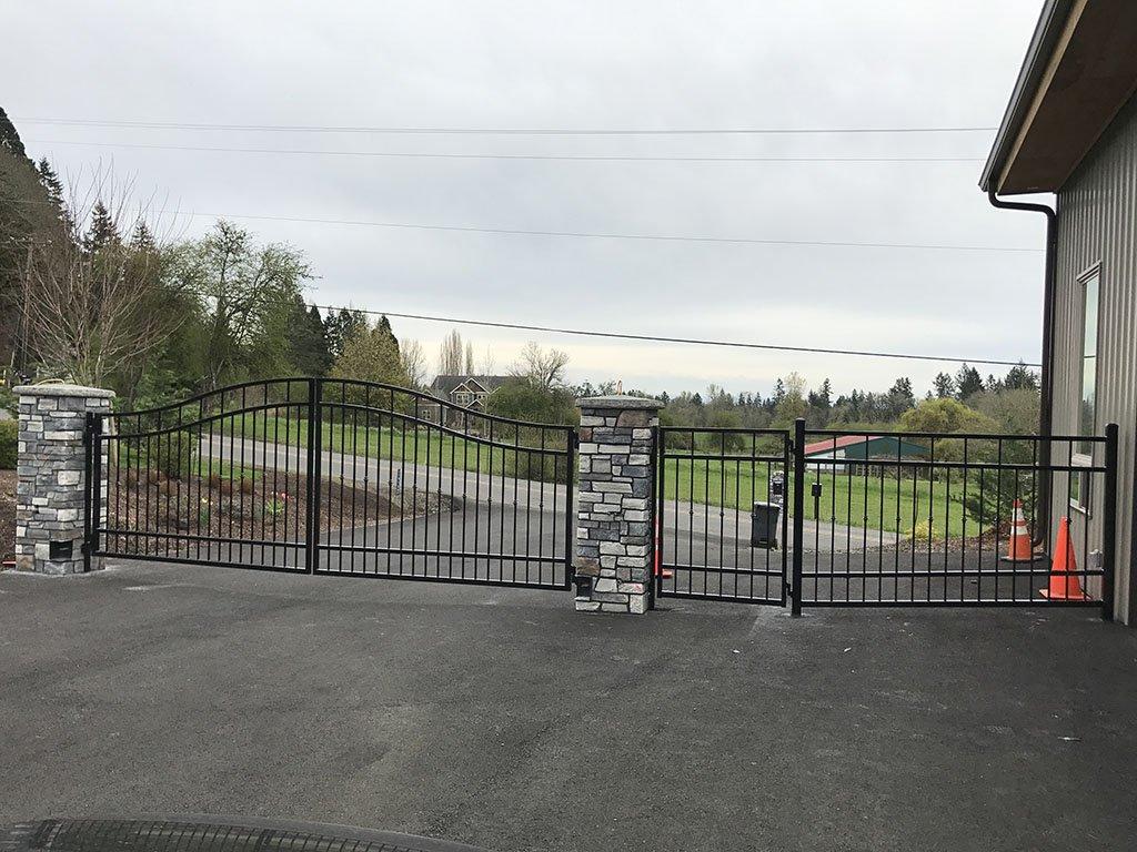 Iron Gates Driveway Gates Security Gates Portland