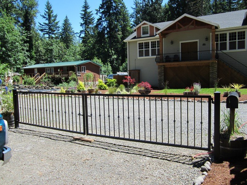 Iron Gates Driveway Gates Security Gates Portland