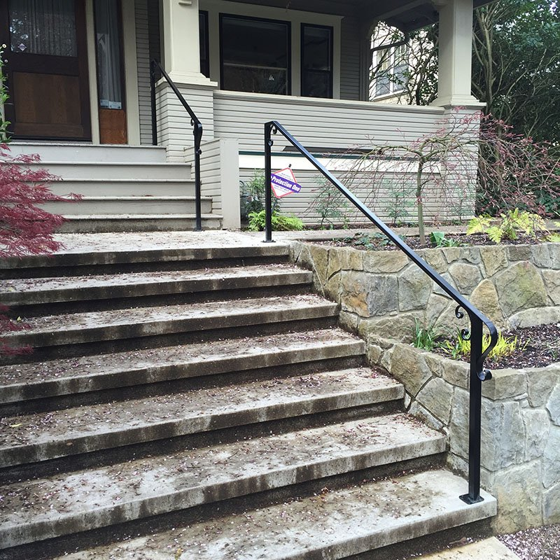 Adrians Iron Works does grab rails, handrails, wall rails, custom rails, iron rails and more.
