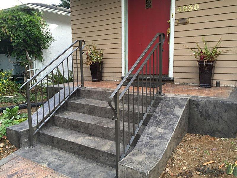 custom exterior railing