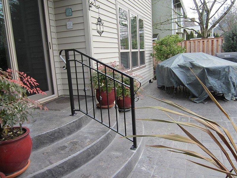 custom iron railings