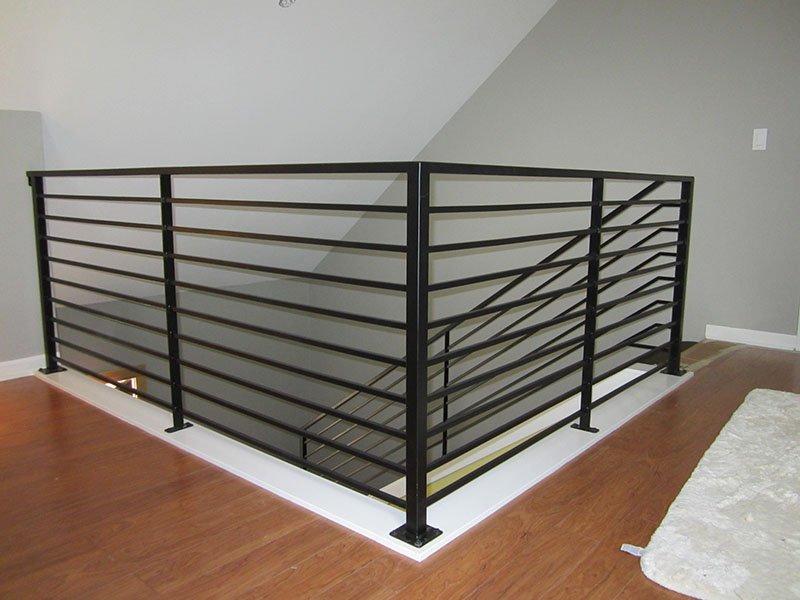 custom interior railing