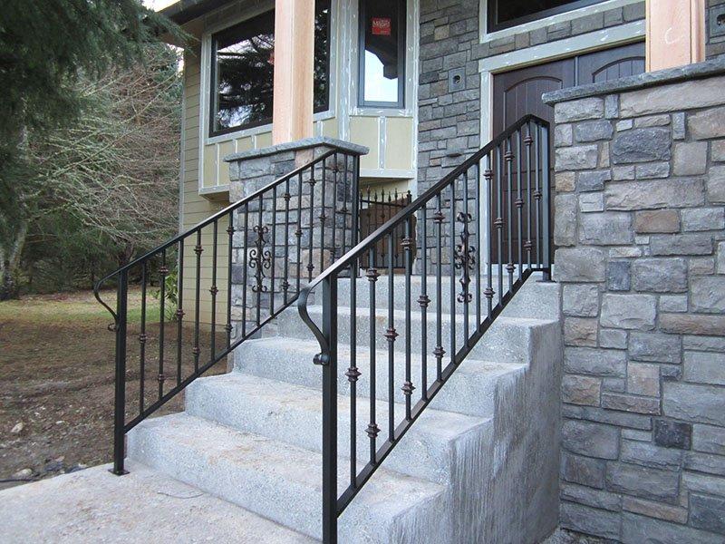 custom exterior railings