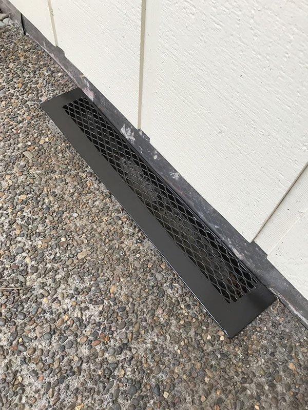 iron vent screen