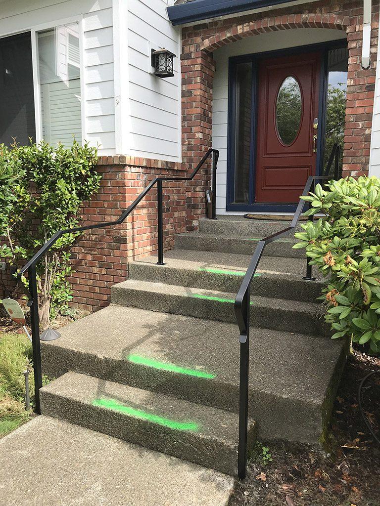 Adrians Iron Works does grab rails, handrails, wall rails, custom rails, iron rails and more.